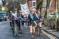DSC_9220 (sustransnw) Tags: march sustrans suffragettes