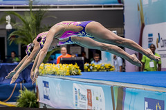 Synchronised Swimming Olympic Games Qualification Tournament - Rio de Janeiro (BRA) (fina1908) Tags: 2016 fina synchronisedswimming olympicgames brazil brasil qualificationtournament rio synchro sincro duet technicalfinamex riodejaneiro brazilbrasil bra olympics synchroogqt