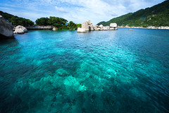 IMG_9039_edited-1 (Lauren :o)) Tags: ocean blue sea beach water swim landscape thailand island paradise dive diving kohtao turtleisland nangyuan desertisland diveresort nangyuanisland