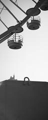 Marseille - La roue de la bonne mre (Synopsis --- Ynosang) Tags: bw monochrome mono blackwhite marseille sony nb 40mm a7 notredamedelagarde massilia hexanon bonnemre ynosang