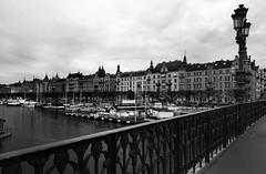 Stockholm and Uppsala, Sweden (swbsnaps) Tags: bridge blackandwhite stockholm