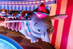 The Magical Flying Dumbo (Michael Billick) Tags: longexposure nightphotography colors photography orlando nikon florida dumbo disneyworld wdw waltdisneyworld resorts kissimmee hdr magickingdom fantasyland afterhours amusementparks disneyparks disneyphotography disneyphotoblog nikond610