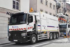 Renault Trucks C480 (Alexandre Prvot) Tags: truck construction transport camion construccin lorraine worksite buildingsite mts travaux chantier cugn saugbagger grandnancy suctionexcavator baustellebauplatz excavatriceaspiratrice dino45 mtsdino45