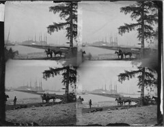 Four-photograph time-lapse view of Union cavalry crossing a pontoon bridge over the James River in Virginia during the American Civil War, 1864. Link to animated version in comments. [3000x2322] #HistoryPorn #history #retro http://ift.tt/1STocMT (Histolines) Tags: bridge history river during james virginia timelapse war crossing view union over version retro civil american link timeline animated comments cavalry pontoon 1864 vinatage historyporn histolines fourphotograph 3000x2322 httpifttt1stocmt