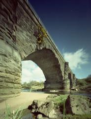 A Walk on the Bright Side (wheehamx) Tags: colour pinhole viaduct milton ayrshire laigh