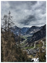Le Chable valley, Switzerland (andythekeys) Tags: snow mountains clouds montagne switzerland valley verbier lechable