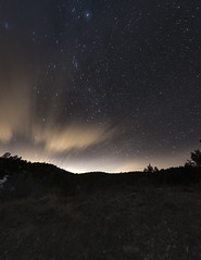Impact-1 (spikeyj37) Tags: longexposure light sky night stars photography utah nikon fork canyon spanish pollution nikkor 1424 d810 uvu