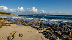 Beautiful Mallorca morning (hjuengst) Tags: ocean morning panorama beach clouds strand island spain sand rocks wolken wideangle insel mallorca spanien mediterraneansea morgens felsen weitwinkel canpicafort mittelmeer
