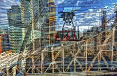 roosevelt island tram (Chip Renner) Tags: newyork bridges hdr photomatix