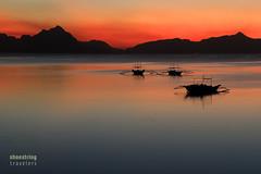 El Nido Twilight (engrjpleo) Tags: longexposure travel sunset sea sun seascape water colors landscape coast seaside twilight outdoor shore elnido waterscape corongcorongbeach