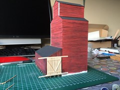 Scratch build grain elevator