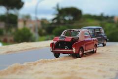 Anno 1967. Ricordo di una panne... forse...? (lumun2012) Tags: macro cars fiat models lucio automobili prospettiva anni60 mundula