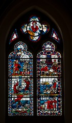Mnster_Heilig_Kreuzkirche_Glasfenster-0717_b (encyclopaedia) Tags: germany deutschland raw stainedglass glasmalerei abel vater mnster babel lightroom gott vitraux kain kreuzkirche bistum bistummnster heiligkreuzkirche glasfenster turmbau gottvater farbglas sintflut