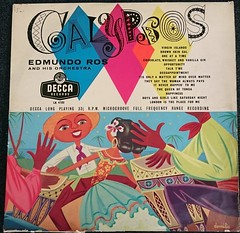 EDMUNDO ROS AND HIS ORCHESTRA ROS ALBUM OF CALYPSOS - FR (richbedforduk) Tags: records artwork vinyl albums labels 12 33rpm lps sleeves