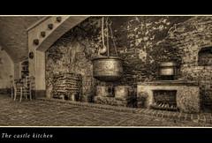 Nel castello # 3 (celestino2011) Tags: camino sedie hdr rame legno viraggio pentole tortiere mestolo castellodellamanta