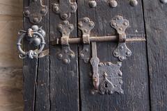 Ancient castle door detail (quinet) Tags: door castle germany porte schloss chteau tr 2012 castleroad burgenstrase