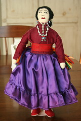 Navajo Cloth Doll (absenceofcolor1) Tags: doll dress folk traditional cloth navajo