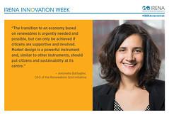 InnovationWeek_AntonellaBattaglini (International Renewable Energy Agency (IRENA)) Tags: energy innovation renewable tweets internationalrenewableenergyagency