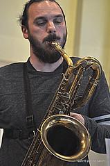 M4099354 (pierino sacchi) Tags: musica sax saxophone libreria recitazione baritono oneiros andreaferrari libreriacardano simonemocennibeck igorebulipoletti