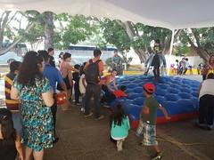 Las  instalaciones del IEEPO se inundaron de risas, alegría y diversión al recibir a l@s hij@s de trabajadores que laboran en este Instituto para disfrutar, un festival en su honor con motivo del Día del Niño y la Niña