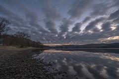 Loch Awe, Argyll & Bute (Chris Bonnie) Tags: sunrise lowlight flickr sony loch alpha 1635mm flickriver chrisbonnie fluidr a7rii