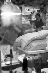The Laundry Woman (Job Homeless) Tags: blackandwhite hongkong streetphotography jordan f2 58mm helios44m monochorme streetsnap canon6d