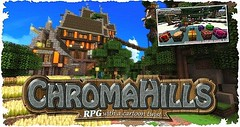 Chroma Hills RPG Resource Pack 1.9.2/1.9/1.8.9 (MinhStyle) Tags: game video games gaming online minecraft