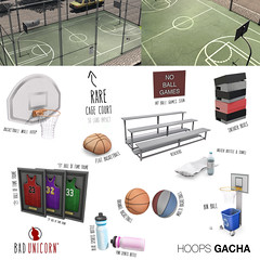 OUT NOW! Hoops Gacha @ Epiphany (Bhad Craven 'Bad Unicorn') Tags: life new original portrait urban game art fashion basketball work ball photography design photo blog store 3d clothing high graphics shadows basket graphic image mesh photos pics top quality profile bad picture progress wip sl gaming secondlife definition second production characters hd concept unicorn nba exclusive bu craven gfx  concepts 2l buc gacha meshes meshed lindens bhad badunicorn
