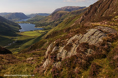 Buttermere (Brian Sayle) Tags: mountain lake mountains water trekking walking landscape outdoors hiking lakedistrict climbing haystacks valley cumbria 7d 1740 crummockwater buttermere scrambling landscapephotography canon1740 ef1740mmf4l eos7d canoneos7d canon7d getoutdoors