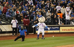 It's all about Mr. Met in this photo (Hazboy) Tags: new york nyc ny game sports field sport mr baseball mascot queens april mister met mets mlb citi flushing beisbol 2016 hazboy hazboy1