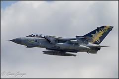 RAF Marham-1 (simon_x_george) Tags: gold star aviation military jet tornado raf panavia gr4 marham 31sqn