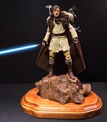 "Mythos Obi-Wan custom 6"" Black Series (chevy2who) Tags: 6 black toy star starwars inch action figure series wars custom sideshow hasbro mythos obiwan blackseries customstarwars customblackseries"