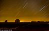 Star Trails, Monument Valley Navajo Tribal Park (IanLyons) Tags: nightphotography travel arizona usa awesome scenic northamerica startrails monumentvalleynavajotribalpark themittens merrickbutte eastmitten oljatomonumentvalley