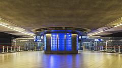 Train station Blaak in Rotterdam (R. Engelsman) Tags: station architecture train rotterdam blaak ns trein architectuur spoorwegen