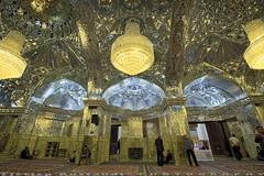 The entrance is guarded by a heavy door (T   J ) Tags: iran fujifilm shiraz xt1 teeje shahecheragh fujinon1024mmf4