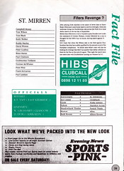Hibernian vs St Mirren - 1989 - Page 29 (The Sky Strikers) Tags: road st magazine easter one scottish division premier pound league bq matchday hibs hibernian mirren