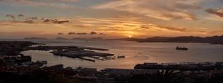 Panorama Vigo Sunset