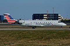 N463AW (Air Wisconsin) (Steelhead 2010) Tags: americaneagle americanairlines yyz crj canadair crj200 airwisconsin n463aw nreg
