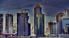 BGC Towers (ariel gitana) Tags: buildings landscape 50mm construction nikon cityscape philippines architectural hdr oudoor architecturephotography buildingcrane taguigcity d7100 arielgitana nikond7100samplephoto