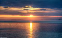 Moray Firth sunset (Michael Leek Photography) Tags: light sunset sea sunlight mountains nature weather clouds scotland morayfirth scottishhighlands easterross scottishlandscapes scottishcoastline scotlandslandscapes scotlandsbeauty awesomescotland michaelleek michaelleekphotography