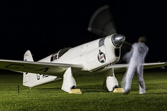 Percival E.2H Mew Gull - 6 (NickJ 1972) Tags: night shoot gull aviation nightshoot collection shuttleworth percival mew e2 2015 oldwarden gaexf