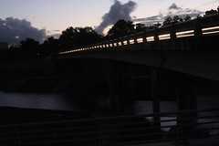 Out for a Walk (spiegel_gabriel) Tags: longexposure sunset canon texas houston manfrotto braysbayou