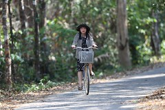 Cycling (Vinchel) Tags: park nature cat canon is outdoor vietnam national ii l usm f28 ef tien 400mm 1dx