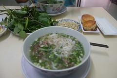 Pho Bo. Excellent last breakfast in Vietnam (koukat) Tags: city vietnam chi ho pho minh saigon hcmc