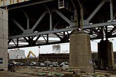 r_160428463_kos_a (Mitch Waxman) Tags: newyorkcity newyork construction scaffold greenpointbrooklyn newtowncreek laborers constructionequipment kosciuszkobridge nysdot dukbo