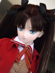 Obiwanivan's Rin 2 (sakura_chan15) Tags: dd fatestaynight dollfiedream tohsakarin