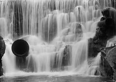 Upper Shelving Rock Falls (DKAIOG) Tags: film monochrome blackwhite largeformat 5x7 ilfordfp4 pyrocatmc goerzroberstonatar305mmf9 kingpoco5x7camera
