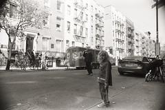 AA029 (heavyasmountains) Tags: nyc newyorkcity blackandwhite slr film 35mm photography nikon candid streetphotography noflash 24mm fm3a filmphotography streetstyle