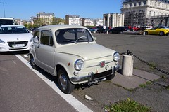 Paris Fiat  600 (descartes.marco) Tags: france italian fiat 600 oldtimer fiat600
