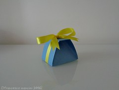 Bomboniera (mancinerie) Tags: origami paperfolding francescomancini mancinerie